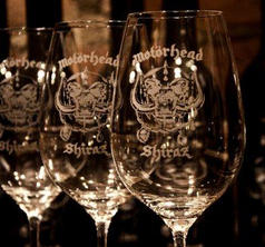 MOTÖRHEAD WINE - SHIRAZ WINE GLASSES